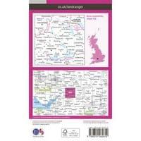 OS Landranger Map - 163 - Cheltenham & Cirencester